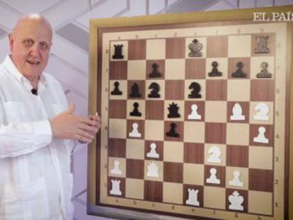 El gran maestro israelí elimina piezas defensoras a cualquier precio, hasta crear una obra maestra