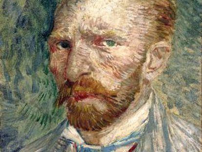 Autorretrato de Vincent van Gogh, de 1887.