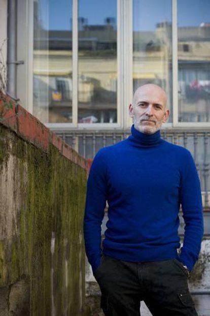 El escritor Alejandro Palomas.