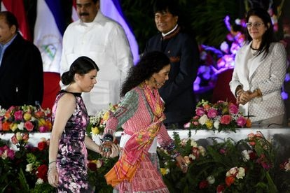 Camila Ortega Murillo, hija del presidente de Nicaragua, Daniel Ortega, y de la vicepresidenta y primera dama, Rosario Murillo.