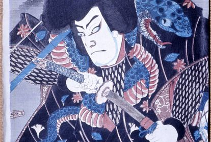 Un samurai iniciado en 'ninjutsu', el arte marcial de la invisibilidad. O, lo que es lo mismo, un 'ninja' (Japón, siglo XIX).