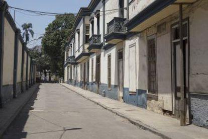 imágenes tomadas en el barrio Cinco Esquinas de Lima, donde está ambientada la última novela del Nobel Mario Vargas Llosa.