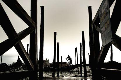 Uno de los canales de la ciudad de Venecia. / Isaac F. Calvo
