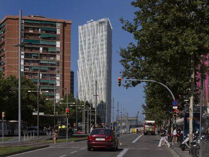 Axa compra la Torre de Telefónica del Fórum de Barcelona
