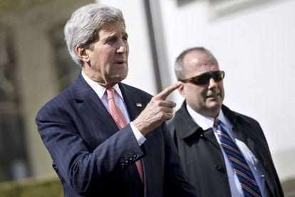 John Kerry, este lunes en Lausana.