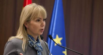 La comisaria de Mercado Interior, Elzbieta Bienkowska.
