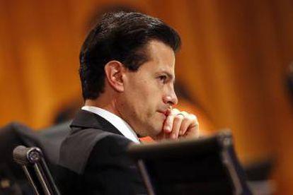 Enrique Peña Nieto, el pasado viernes.