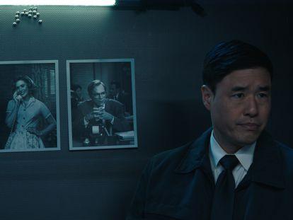 Randall Park en un instante del cuarto episodio de 'La bruja escarlata y Visión'.