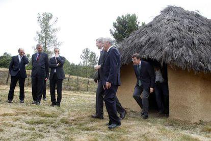Inauguración del Parque Arqueolóxico da Arte Rupestre de Campo Lameiro