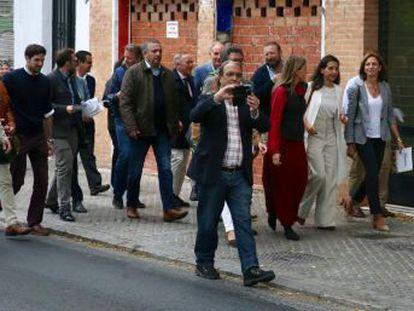 """Las declaraciones de la dirigente pueden suponer """"una incitación directa a la violencia"""" contra los jóvenes inmigrantes solos de un centro de la capital andaluza"""