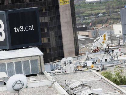 Instalaciones de TV3.