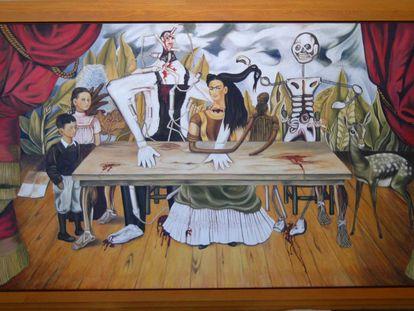 'La mesa herida', de la pintora mexicana Frida Kahlo.