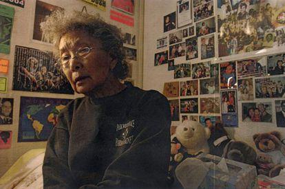 Yuri Kochiyama, activista contra el racismo en EE UU.