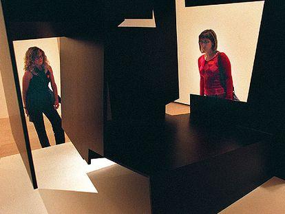 Una de las esculturas pertenecientes a la serie <i>Construcciones vacías, </i>de Jorge Oteiza.