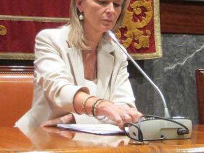 La portavoz del Poder Judicial, Gabriela Bravo.