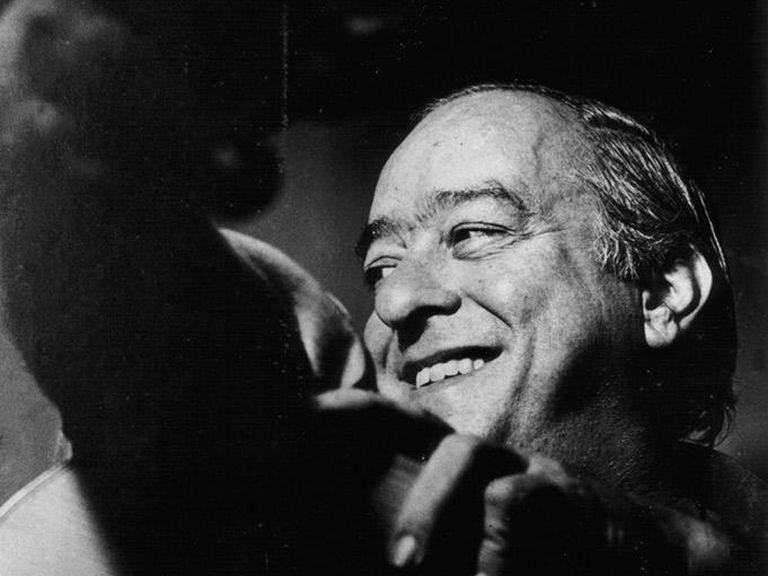 El músico y poeta Vinicius de Moraes.