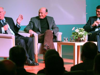 Ardanza, Ibarretxe y López en los 25 años del Master de Gestión de Empresas