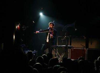 El cantautor Andrew Bird, en su actuación del sábado en Madrid.