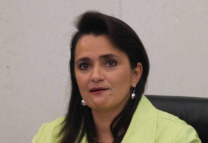 La nueva ministra de la Suprema Corte, Ríos-Farjat.