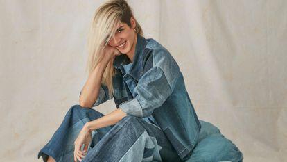 La actriz Clara Lago, en la campaña sostenible de Levi's y Back to Eco.
