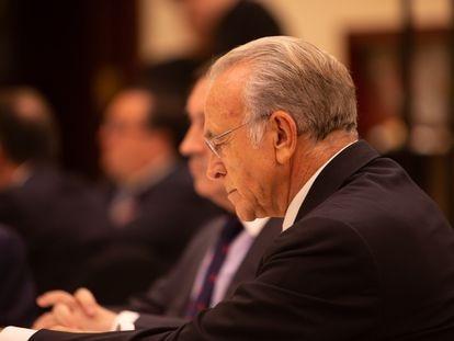 El presidente de la Fundación Bancaria La Caixa Isidro Fainé.