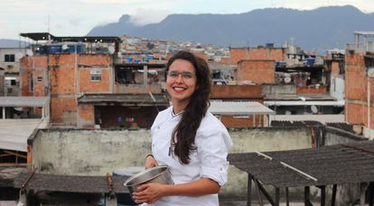 La chef brasileña Mariana Aleixo.