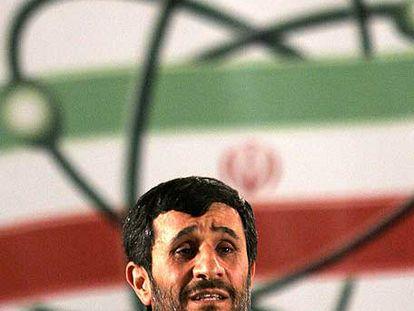 El presidente iraní, Mahmud Ahmadineyav, en abril.