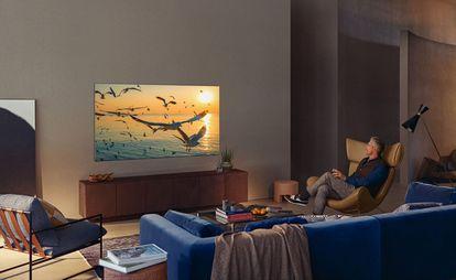 Los televisores Samsung integran en su interfaz todas las plataformas 'streaming' que se han consolidado durante la pandemia.