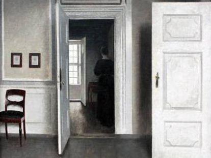 'Interior. Strandgade 30' (1901), del artista danés Vilhelm Hammershoi.