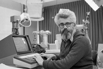 El científico informático John McCarthy, en 1974.