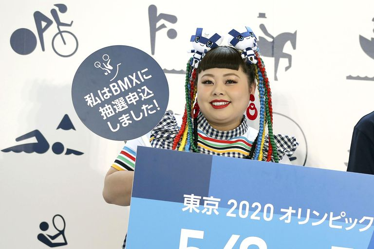 Naomi Watanabe, at a promotional event for Tokyo 2020 in May 2019.