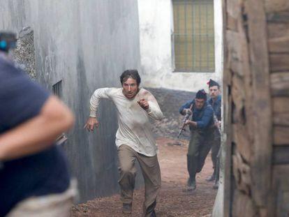 En vídeo, Antonio de la Torre, en 'La trinchera infinita'.
