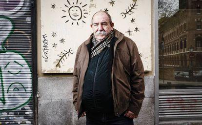El dibujante cubano Juan Padrón, retratado en Madrid en 2017.
