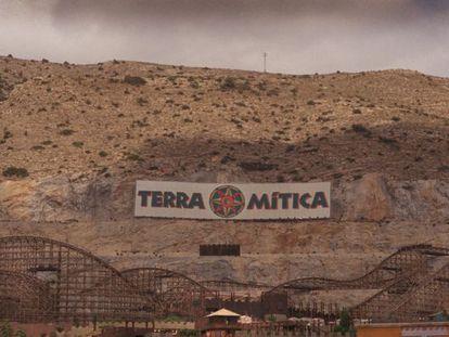 Vista del parque temático Terra Mítica.
