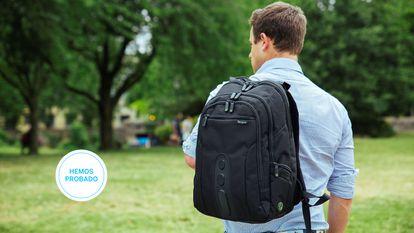 Hemos probado cuatro de las mejores mochilas para portátiles de hasta 15,6 pulgadas disponibles en Amazon.