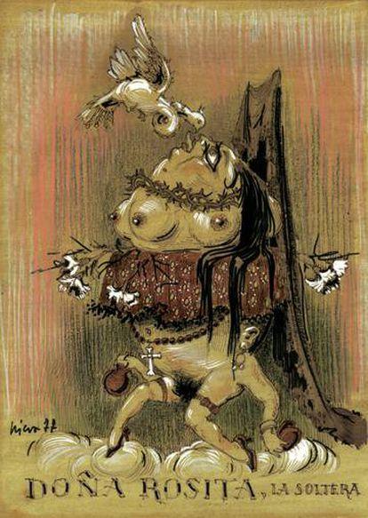 'Doña Rosita la soltera', de Francisco Nieva, 1977.