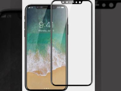 El nuevo iPhone no tendrá botones analógicos en el frontal de la pantalla.