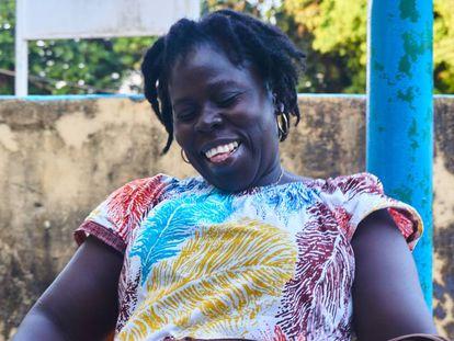 Elizabete Da Costa, educadora de género en Guinea Bissau.