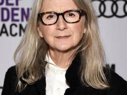 La directora Sally Potter, ayer jueves en Los Ángeles.
