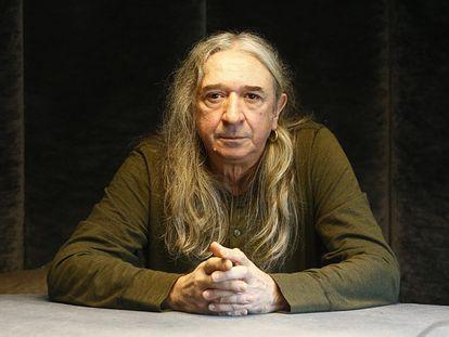 El cantante Rosendo en Madrid.