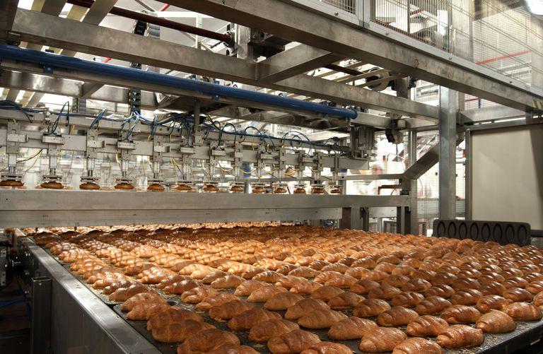 Una fábrica de bollería industrial en la Comunidad Valenciana.