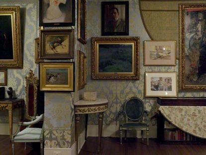 La Sala Azul del Isabella Stewart Gardner Museum de Boston