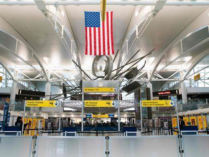 Imagen del jueves 12 de marzo de la terminal 1 del Aeropuerto Internacional John F. Kennedy, en Nueva York.