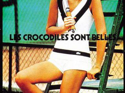 """Lacoste. """"Los cocodrilos son bellos"""". Agencia desconocida."""