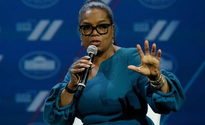 La comunicadora Oprah Winfrey.