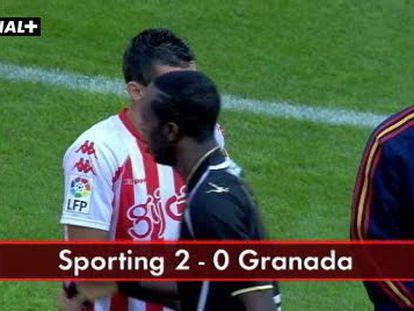Sporting 2 - Granada 0