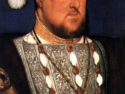 Retrato de Enrique VIII de Inglaterra, obra de Hans Holbein 'El Joven', expuesto en el museo Thyssen Bornemisza de Madrid.