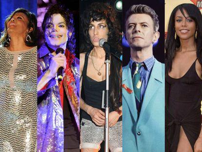 Historia trágica del pop: 25 ídolos de masas que nos dejaron en los últimos 20 años