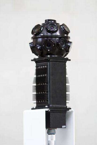 La cámara que realiza fotos para el Google Art Project