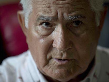 El nicaragüense Edén Pastora, en una entrevista el pasado 18 de julio, en Managua.